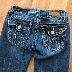 Miss Me Embroidered Pocket Irene Jean Size 25
